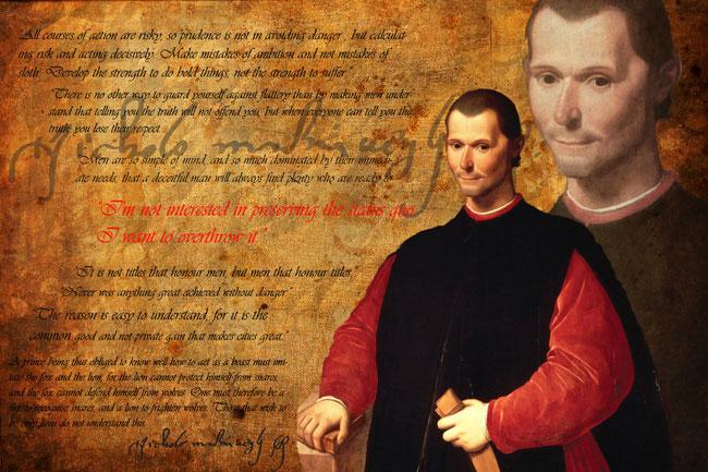 Câteva citate din Principele de Niccolo Machiavelli