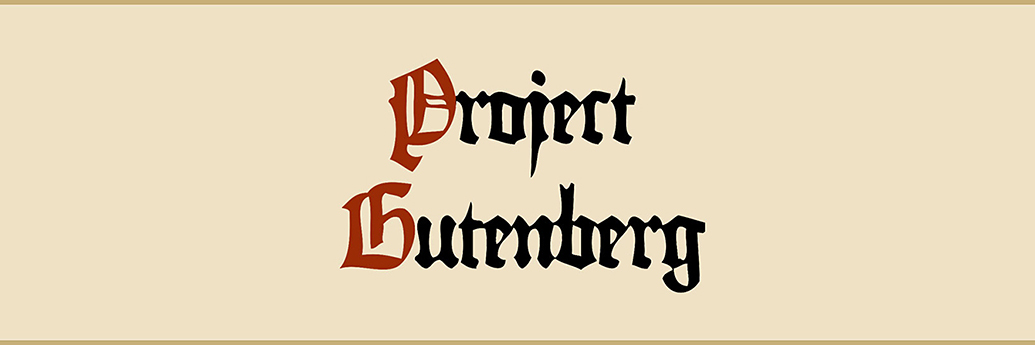 Proiectul Gutenberg, cărți digitale