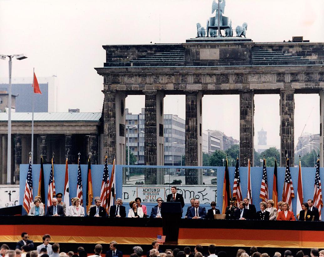 discursul de poarta brandenburg