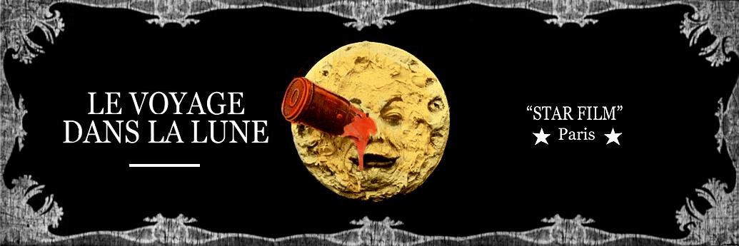 Posterul fimului Călătoria spre Lună, colorat
