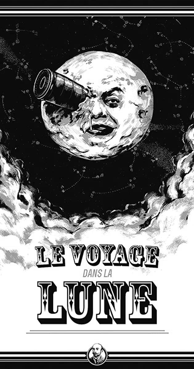 posterul filmului călătoria spre lună de melies