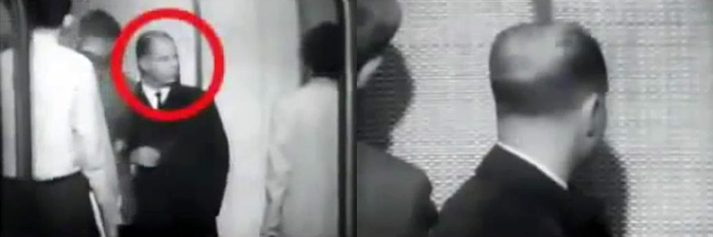 Filmare cu camera ascunsă la experimentul din lift