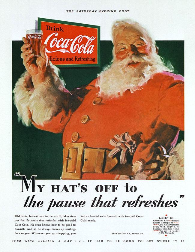 Moș Crăciun 1931