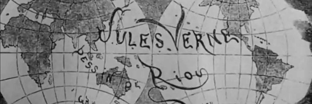 Jules Verne pe mapamond