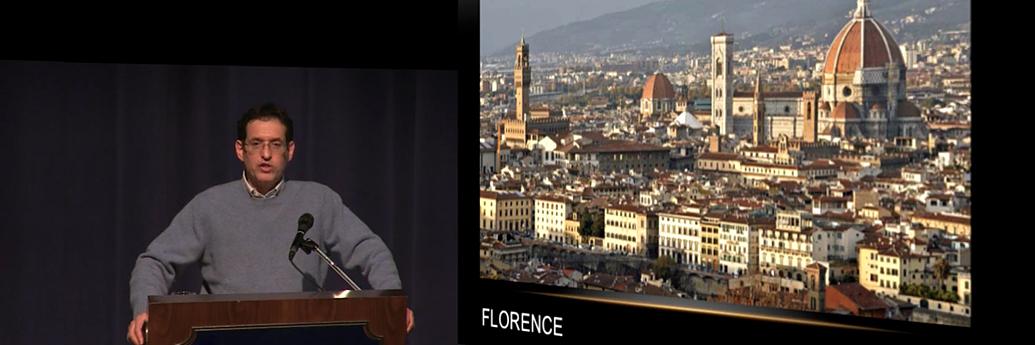 Miles Unger vorbește despre Florența și Machiavelli