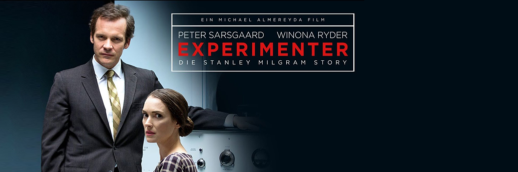 Poster Experimentatorul cu Peter Sarsgaard și Winona Ryder