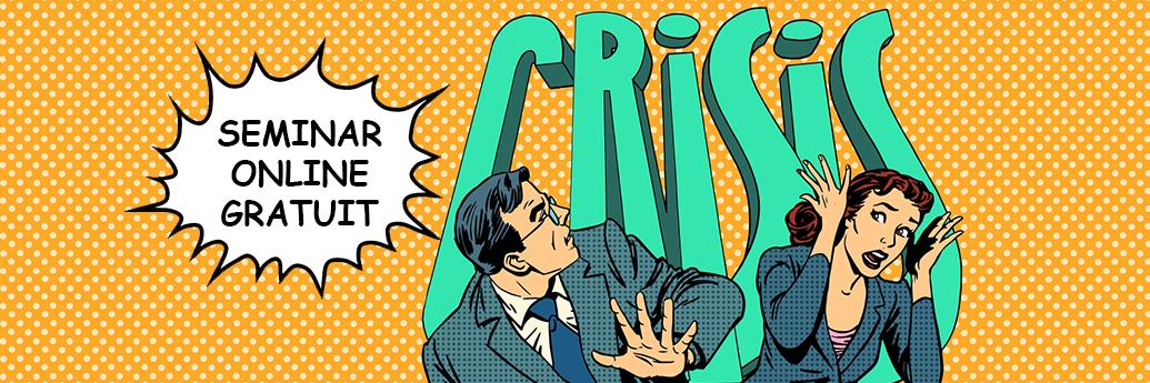 Bărbat și femeie loviți de criza de imagine
