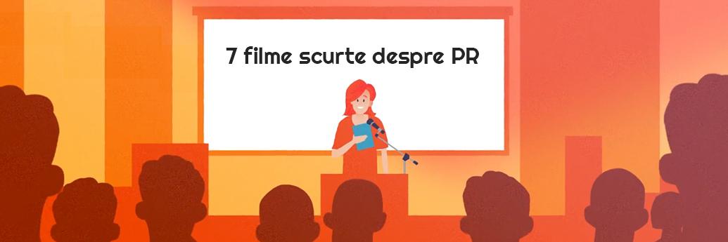 Filme despre PR proiectate în sală