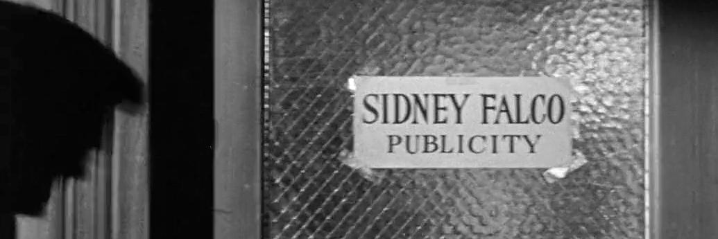 Biroul lui Sidney Falco, publicity man